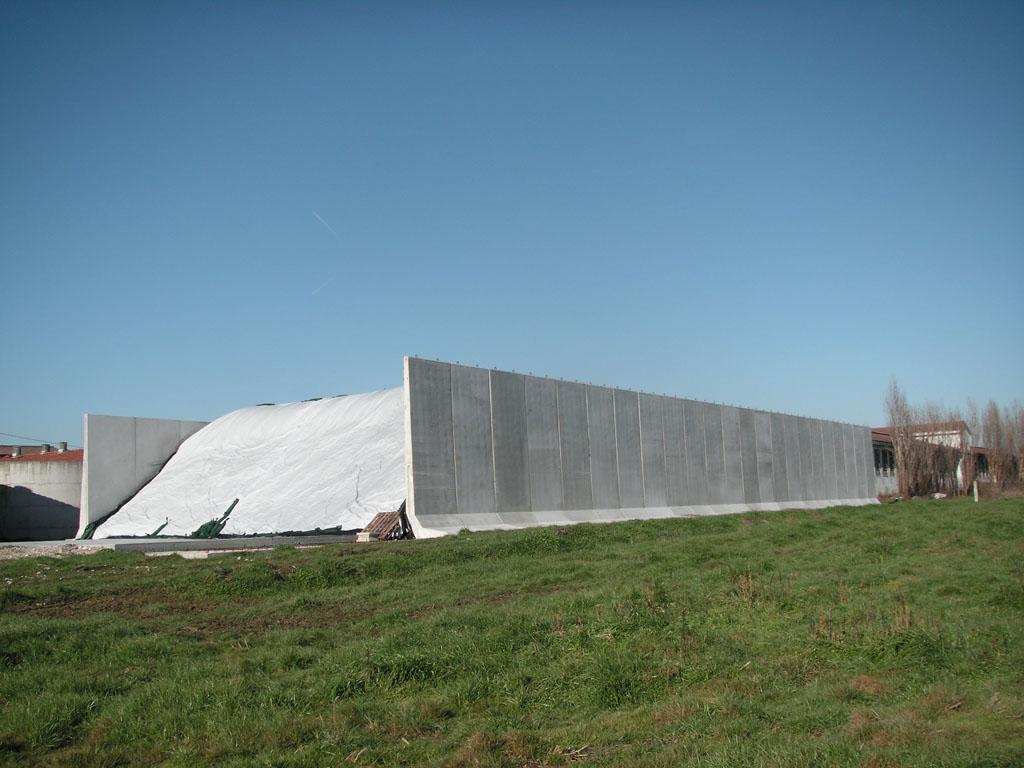 Muri Di Contenimento Pareti Stoccaggio Foraggi Dalla Mora