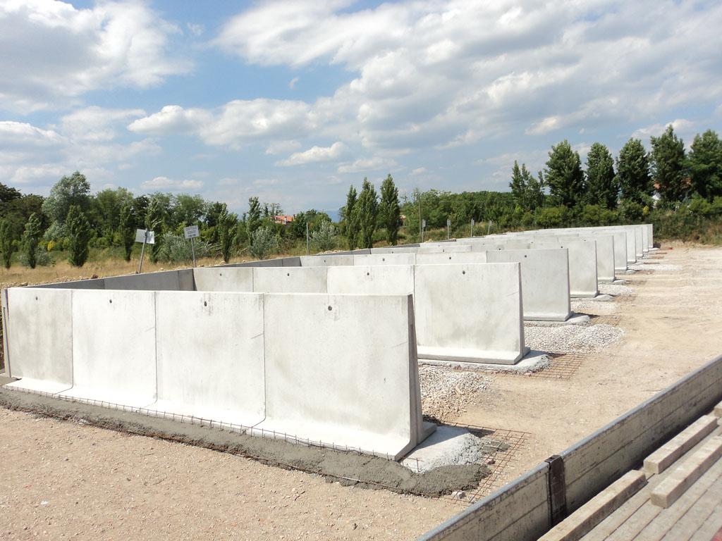 Preventivo Muro Cemento Armato.Muri Di Contenimento Prefabbricati In Cemento Armato Dalla Mora