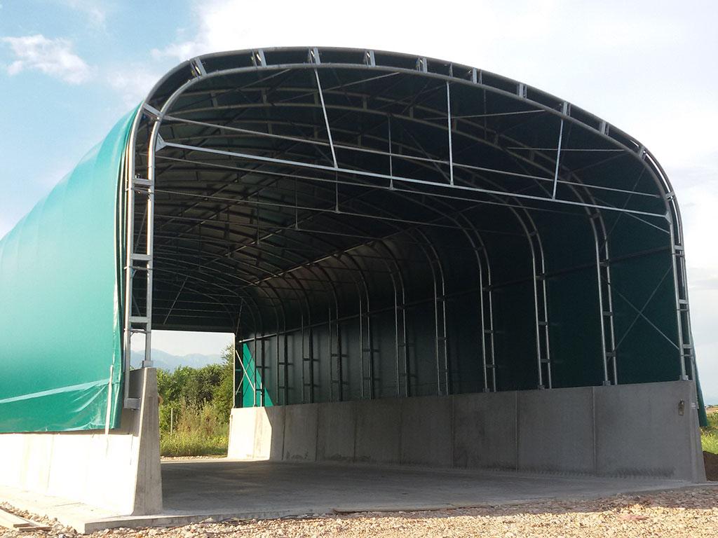 Tunnel Ad Arco Prefabbricati Per Agricoltura Dalla Mora Prefabbricati